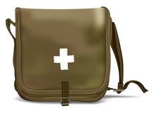 Pronto soccorso Kit Shoulder Bag Attrezzatura medica Fotografia Stock