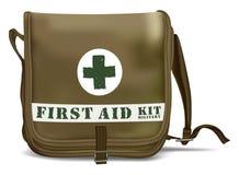 Pronto soccorso Kit Shoulder Bag Attrezzatura medica Fotografie Stock