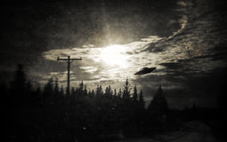 Proof of Aliens in Alaska! Royalty Free Stock Photos