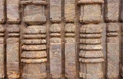 Propósito cercano de la talla acolumnada exquisita Imagen de archivo