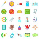 Prop icons set, cartoon style. Prop icons set. Cartoon set of 25 prop vector icons for web isolated on white background Stock Photos