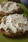 Propagação de queijo creme Imagem de Stock
