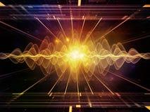 Propagación de ondas ligeras Imagen de archivo