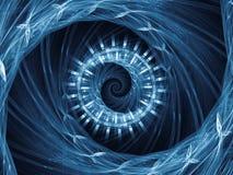 Propagación del modelo espiral Fotografía de archivo libre de regalías