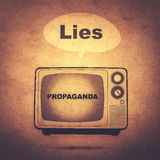 propaganda Stock Foto's
