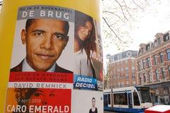 Propaganda de Obama em Holland Imagem de Stock