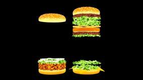 Propaganda do alimento Propaganda alegre do fast food
