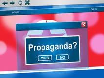 Propaganda från nordkoreansk illustration för diktator 3d vektor illustrationer