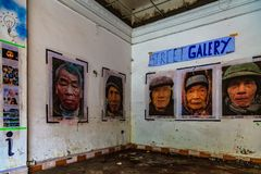 Propaganda, Hanoi, Vietnam. Propaganda is information that is not objective and is used primarily to influence an audience and further an agenda, often by royalty free stock photos
