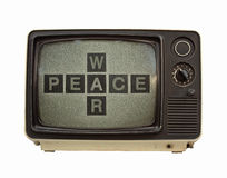 Propaganda tv Royalty Free Stock Photo