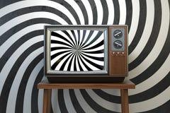 Propaganda y el lavar el cerebro del concep influyente de los medios de comunicación ilustración del vector