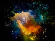 Propagation de l'espace Image libre de droits