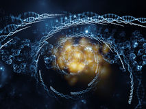 Propagation of DNA Royalty Free Stock Photography
