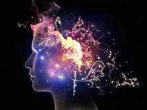 Propagation of Inner Thoughts Stock Photography
