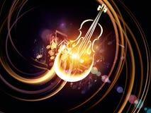 Propagation of Music Royalty Free Stock Photo
