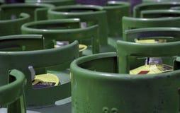 Propan benzynowe butle zdjęcie stock