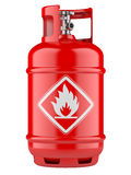 Propane cylinders with compressed gas Royalty Free Stock Photo
