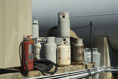 Propane Cylinders Royalty Free Stock Image