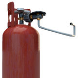 Propane gas bottle Stock Photography