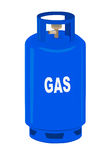 Propane gas cylinder. Stock Image