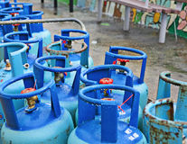 Propane tanks Royalty Free Stock Photo
