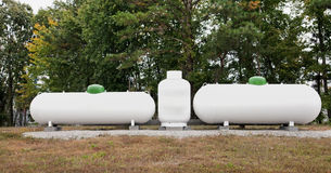 Propane Tanks stock photos
