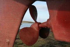 propella łodzi zdjęcie royalty free