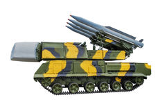 Propelled fire setting 9А310 anti-missile system 9К37 Buk made Royalty Free Stock Photography