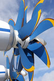 Propeller. Coaxial the air screw of the plane Stock Photography