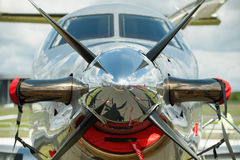 Propeller aircraft Royalty Free Stock Images