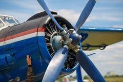 Propeller aircraft Royalty Free Stock Photo