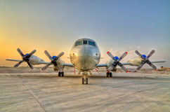 Propeller Aircraft stock photo