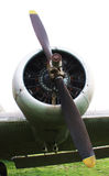 Propeller of aircraft Royalty Free Stock Photo