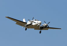 Propeller airplane royalty free stock photography