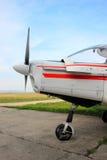 Propeller av flygplan Arkivbilder