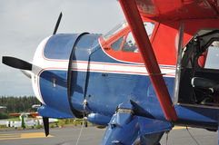 Propeller Bi-Plane Royalty Free Stock Images