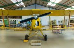 Propeller biplane Stock Photos