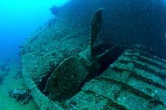 Propeller of Chrisula K Stock Images