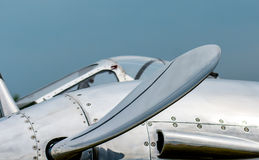 Propeller and Cockpit Stock Photography