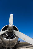 Propeller DC3 Stockbild