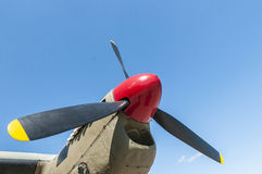 The propeller of de Havilland Mosquito Bomber Stock Image