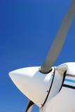 Propeller des kleinen Flugzeuges Stockbilder