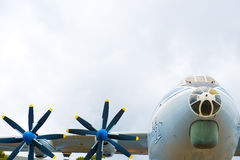 Propeller-driven aircraft Stock Image