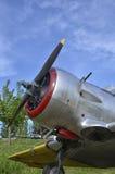 Propeller eines nordamerikanischen Texaners T-6 lizenzfreie stockbilder