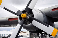 Propeller and engine Royalty Free Stock Photo