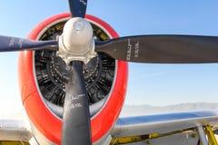 Propeller för åskvigg P-47 Arkivfoto