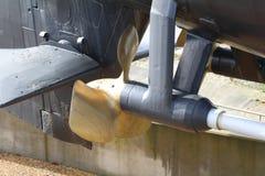Propeller för fosforbrons Fotografering för Bildbyråer