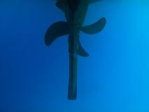 propeller för moreton för dyk för Australien fjärdfartyg arkivfoton