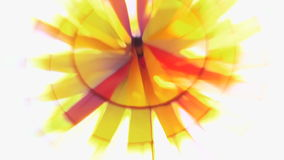 Propeller-Farbe stock footage