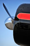 Propeller fragment Royalty Free Stock Photography